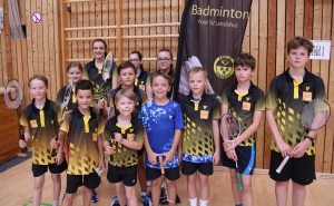 Die Kids der Altersklasse U11-U15